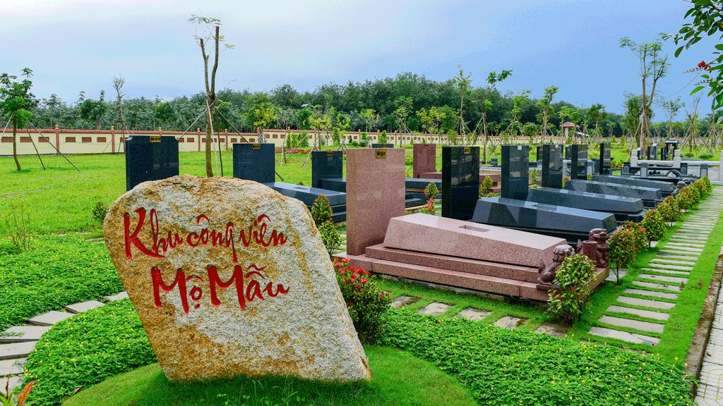 Công viên mộ đá granite