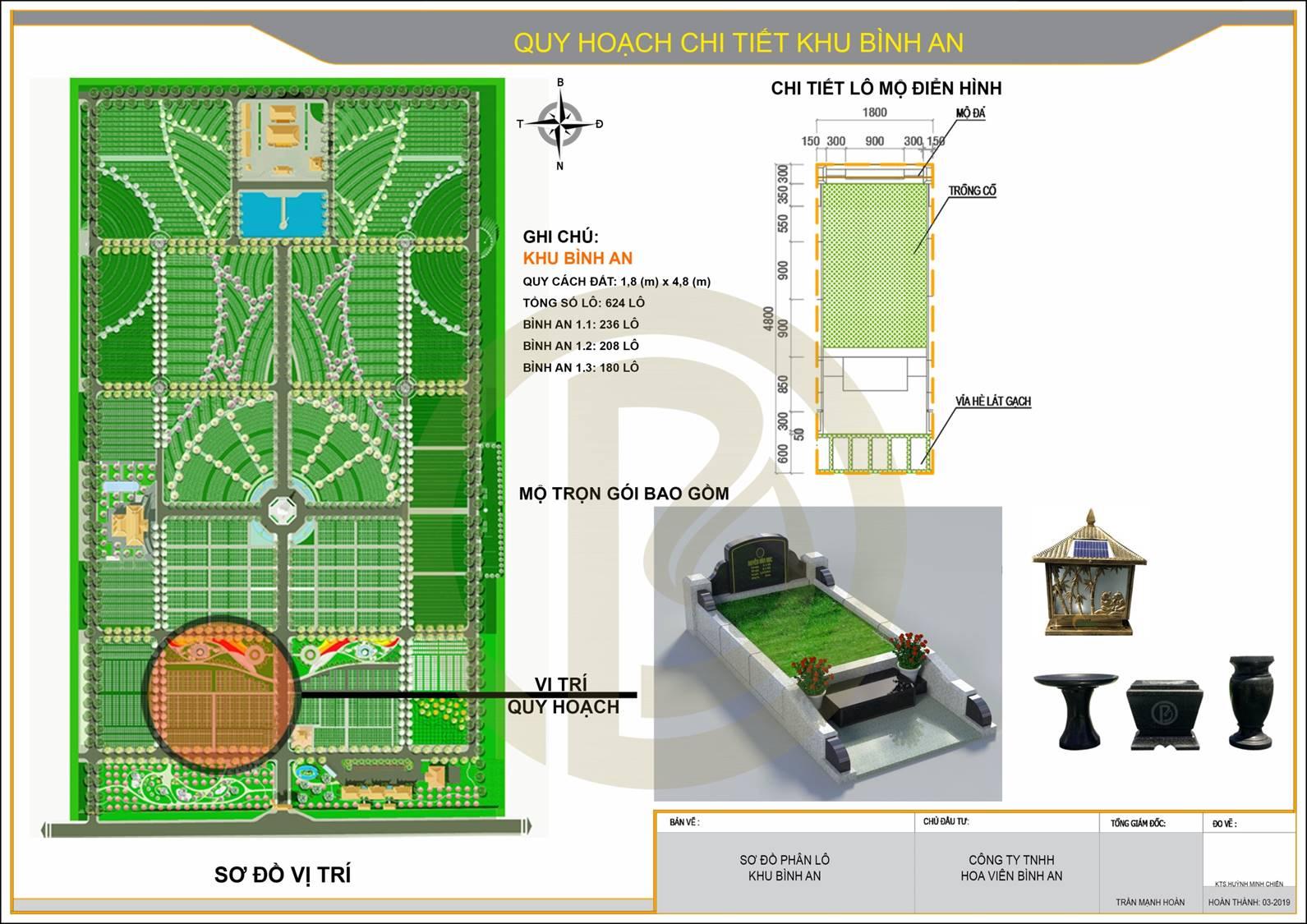 Quy hoạch chi tiết khu Bình An