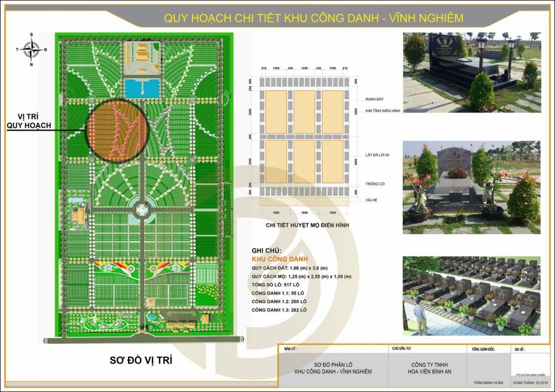 Quy hoạch chi tiết khu Công Danh Vĩnh Nghiêm