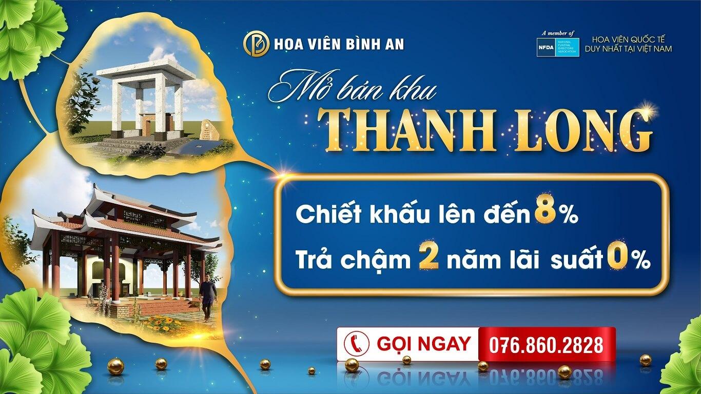 Mở bán khu Thanh Long T6 -2021